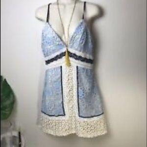 Angel Biba spaghetti strap dress